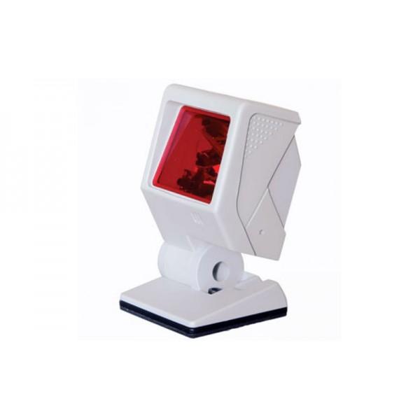 Быстрый стационарный многоплоскостной сканер штрих-кодов MS 3580 QuantumT (USB) белый
