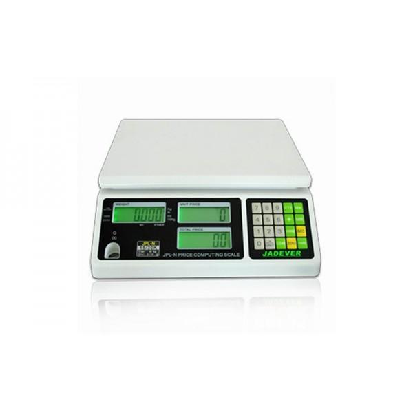 Весы торговые Jadever JPL-N 1506 до 30 кг (платформа из нержавеющей стали)