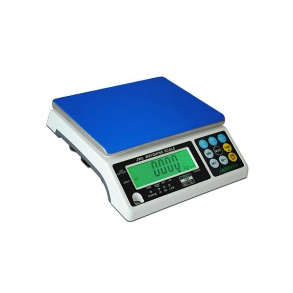 Фасовочные весы Jadever JWL (NWTH B) до 15 кг, точность 1 г