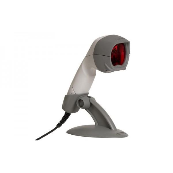 Компактный сканер штрих кодов MS 3780 Fusion (RS-232) с ручным и стационарным режимами, белый