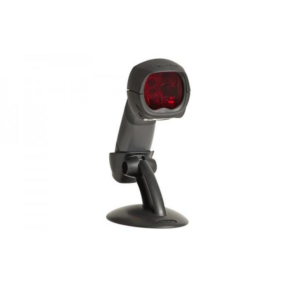 Компактный сканер штрихкодов MS 3780 Fusion (RS-232) с ручным и стационарным режимами, черный