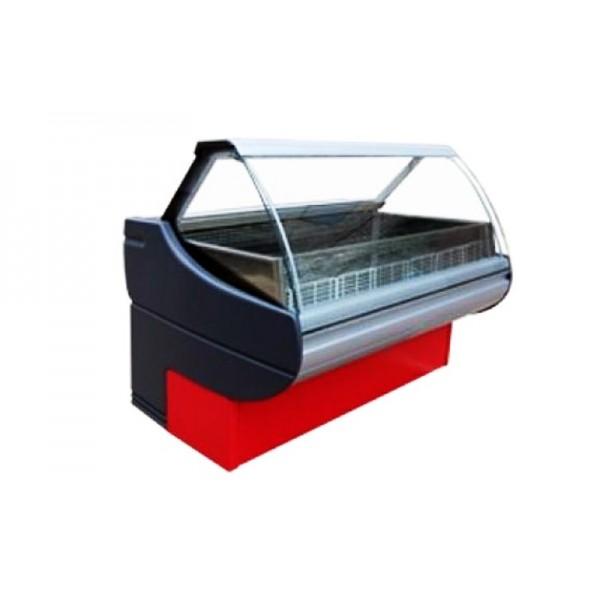 Морозильная витрина Росс Люкс Sorrento М-1,5-В (-15..-18°С, 1,5х1,1 м, без боковых панелей)