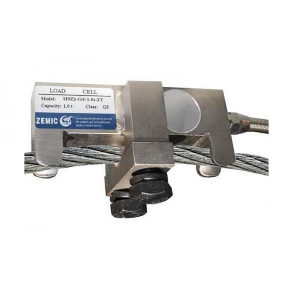 Тензометрический датчик Zemic H9Z2-G5-1,5t-2T до 1500 кг для измерения натяжения троса