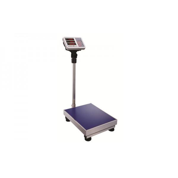 Напольные торговые весы Camry CTE_JE73 до 150 кг, точность 50 г (LED индикатор)