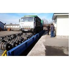 Автомобильные весы ВБА 18-80-2 с цельнометаллической платформой 18х3,43 метра