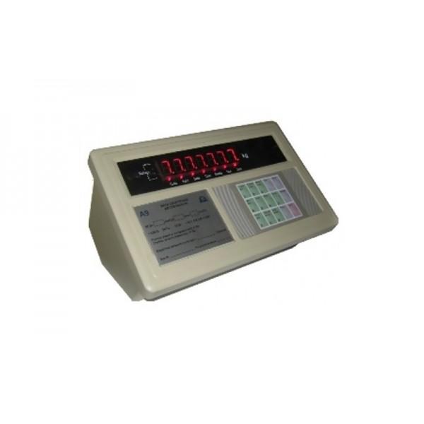Весовой индикатор А9р с принтером (пластик/настольного исполнения)