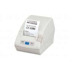 POS-принтер Citizen CT-S281 Serial (RS-232) белый (полная или частичная обрезка)