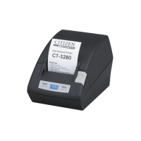 POS-принтер Citizen CT-S281 USB черный (полная или частичная обрезка)