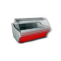 Холодильная витрина Cold W-18 SG (+2...+8°С, 1835х1090х1250 мм, стекло гнутое 1/4 окружности)