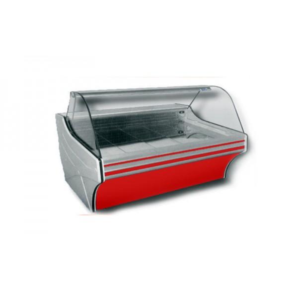 Холодильная витрина Cold W-20 SG (+2...+8°С, 2035х1090х1250 мм, стекло гнутое 1/4 окружности)