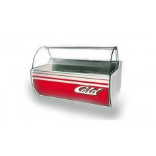 Холодильная витрина Cold W-15 SGSP (+2...+8°С, 1550х1070х1250 мм, стекло гнутое)