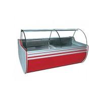 Холодильная витрина Cold W-18 SGSP/2К (+2...+8°С, 1850х1070х1250 мм, стекло гнутое)