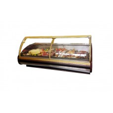 Холодильная витрина Cold W-25 PVP (2580х1200х1210 мм), +2...+8°С, выносной агрегат