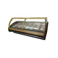 Холодильная витрина Cold W-25 PVP-k GN (2580х1200х1210 мм), +2...+8°С