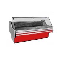 Холодильная витрина Cold W-15 N (+2...+8°С, 1555х1165х1250 мм, стекло гнутое)