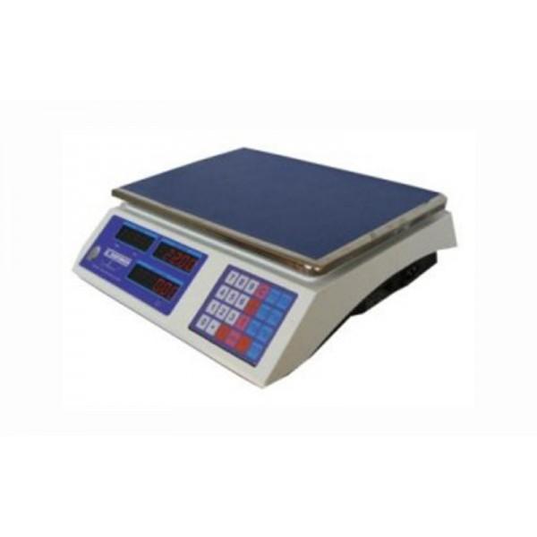 """Торговые электронные весы без стойки ВТНЕ-15Т1 """"Амиго"""" до 15 кг, точность 2/5 г"""