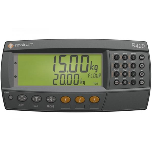Весовой индикатор Rinstrum R420k412 (пластик ABS/настольного исполнения)