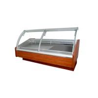 Холодильная витрина Cold (Польша) W-20 PSP-k-D (2045х1200х1210 мм), +2...+8°С, выносной агрегат