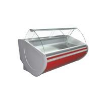 Холодильная витрина Технохолод ПВХС - Флорида 1.4  (0...+8°С, 1340х1120х1230 мм, стекло гнутое)