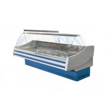Холодильная витрина Технохолод ПВХС - Соната 1.4  (0...+8°С, 1370х1200х1255 мм, стекло гнутое)
