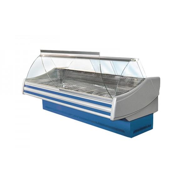 Холодильная витрина Технохолод ПВХС - Соната 2.5 (0...+8°С, 2520х1200х1255 мм, стекло гнутое)