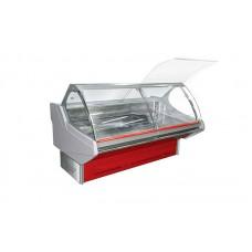 Холодильная витрина Технохолод Люкс ПВХС - Джорджия 1.6 (0..+8°С, 1590х1250х1260 мм, стекло гнутое)