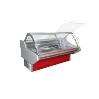 Холодильная витрина Технохолод Люкс ПВХС - Джорджия 2.5 (0..+8°С, 2490х1250х1260 мм, стекло гнутое)