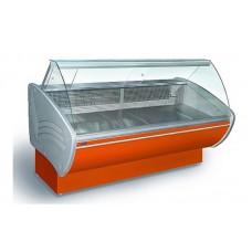 Холодильная витрина Технохолод ПВХС - Каролина 1.4  (0...+8°С, 1340х1115х1265 мм, стекло гнутое)