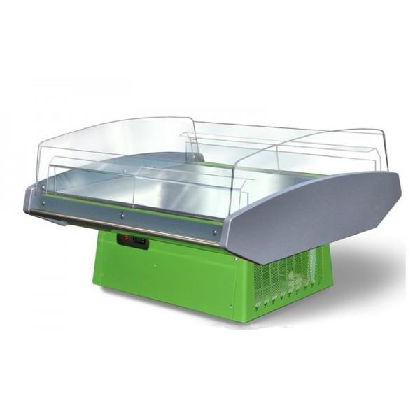 Демонстрационная витрина Технохолод ПВХС(Д)1,4–Вирджиния self (+2..+8°С, 1320х1210х900 мм, обзор 360º)