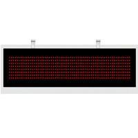 Выносное табло YHL -3R (75мм) БЕГУЩАЯ СТРОКА, металл/настенного исполнения