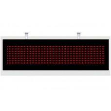 Выносное табло YHL -5R (125мм) БЕГУЩАЯ СТРОКА, металл/настенного исполнения