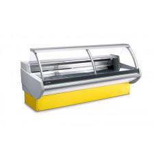 Холодильная витрина Pastorfrigor Portofino 2380 (-1...+5°С, 2380х1140х1220-1240 мм, выносной агрегат)