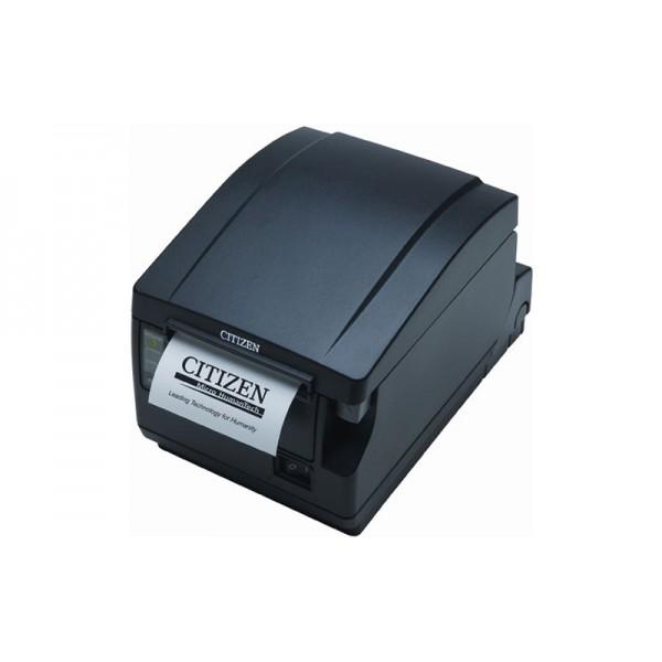 POS-принтер Citizen CT-S651 черный (фронтальный выход бумаги) + Compact Internal Wi-Fi Card