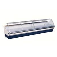 Холодильная витрина Pastorfrigor Firenze 2500 (-1...+5°С, 2500х1270х1195-1215 мм, выносной агрегат)