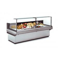 Холодильная витрина Carrier (Linde) Danaos 250 85H (2500х1160х1190 мм), выносной агрегат