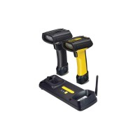 Высокоскоростной ручной сканер штрихкодов для склада Datalogic PowerScan PBT 7100 (RS-232) желтый