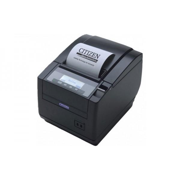 POS-принтер Citizen CT-S801 + Compact Internal Ethernet Card черный (жидкокристаллический дисплей)