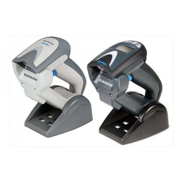 Беспроводной ручной фотосканер штрихкодов Datalogic Gryphon М4130 (USB) бело-серый