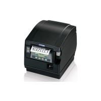 POS-принтер Citizen CT-S851 + Compact Internal Ethernet Card черный (LCD дисплей, фронтальный выход чека)