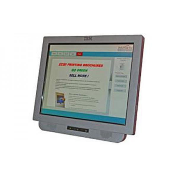 Микрокиоск IBM AnyPlace Kiosk 700-740 с мощным процессором, динамиками и считывателем магнитной полосы