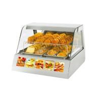 Тепловая настольная витрина Roller Grill VVC 800 (+20...+91°C, 800х730х600 мм, 2 полки)