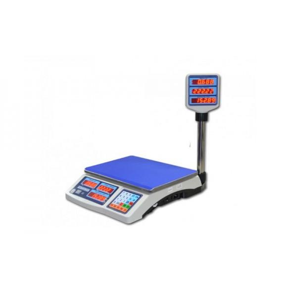 """Торговые электронные весы со стойкой ВТНЕ/1-15Т2 """"Яблочко"""" до 15 кг, точность 2/5 г"""