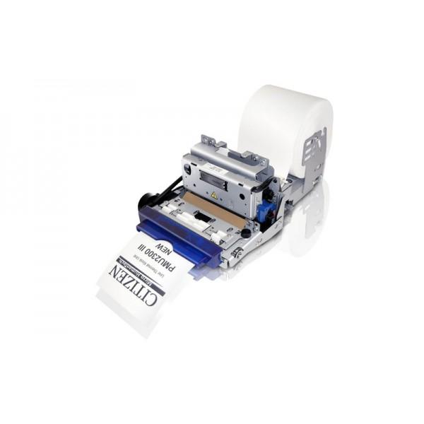 Принтер для киосков Citizen PMU-2300III Serial (RS-232), Bezel (безель, диаметр рулона до 80 мм)