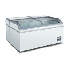 Морозильный ларь-бонета SCAN XS 600 (-12…-24°С, 1480х760х840 мм, гнутое стекло)