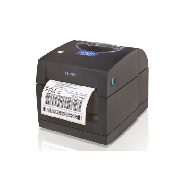 Компактный принтер этикеток Citizen CL-S300 USB (легкая загрузка бумаги)