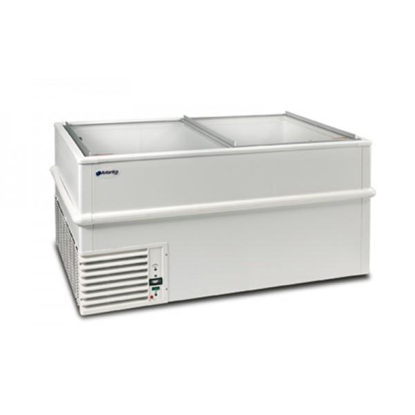 Морозильный ларь-бонета Silfer GT 2500 (-12…-25°С, 2558х978х753 мм, плоское стекло)