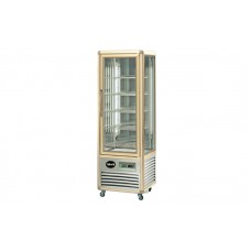 Кондитерский шкаф Apach AVP350G Snelle (+4...+10°С, 595х658x1810 мм, 5 квадратных полок), бронза