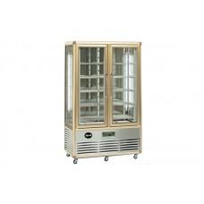 Кондитерский шкаф Apach AVP700G Snelle (+4...+10°С, 1150х660x1810 мм, 10 квадратных полок), бронза