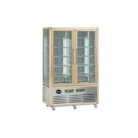 Кондитерский шкаф Apach AVP700GG Snelle (+4...+10°С, 1150х660x1810 мм, 10 квадратных полок), бронза