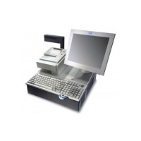 """Сенсорный POS-монитор TOSHIBA GCS 4820-1WD 10,4 """" белый"""